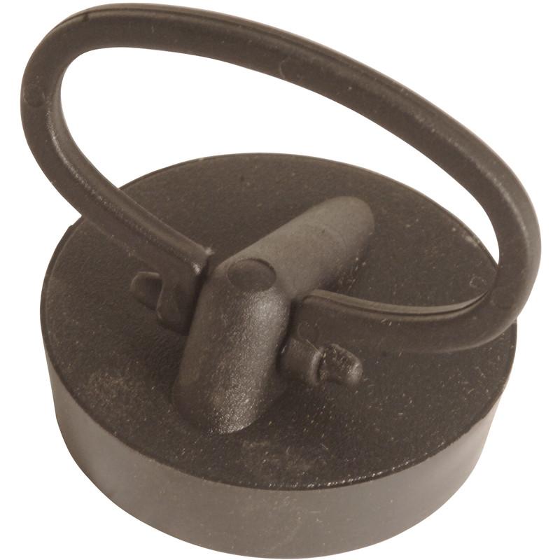 McAlpine Black PVC Plug & Handle