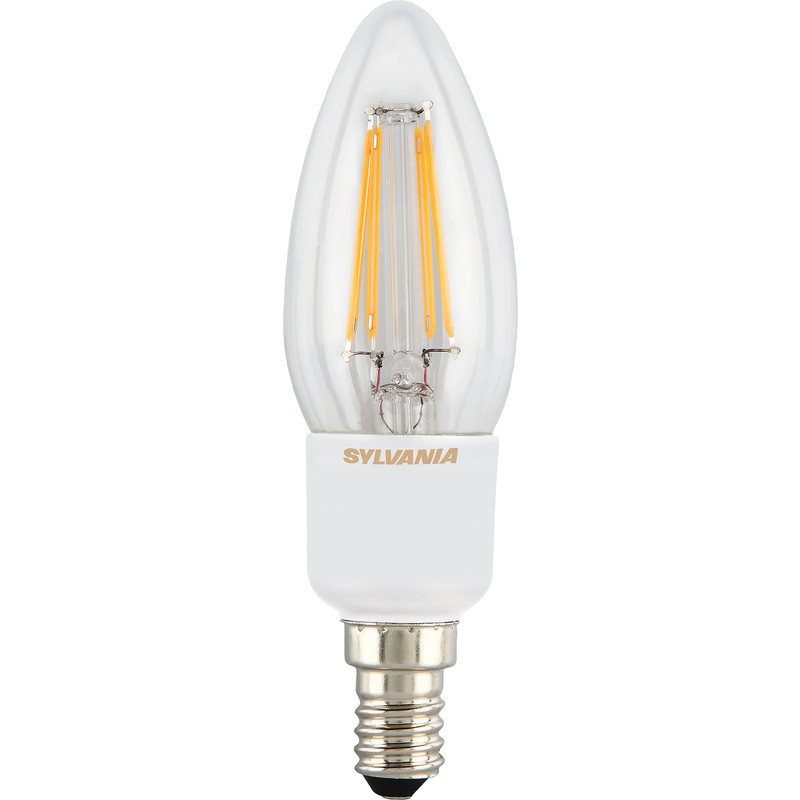 Sylvania LED Filament Effect Dimmable Candle Lamp