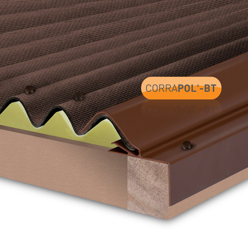 Corrapol-BT Rigid Rock n Lock Side Flashing