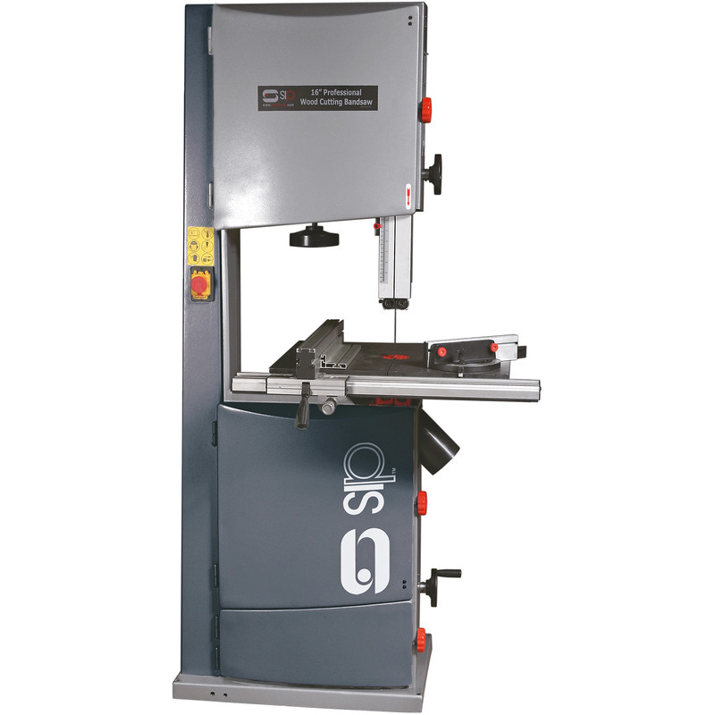 "SIP Professional 16"" 2200W Bandsaw 3hp with Cabinet Stand"