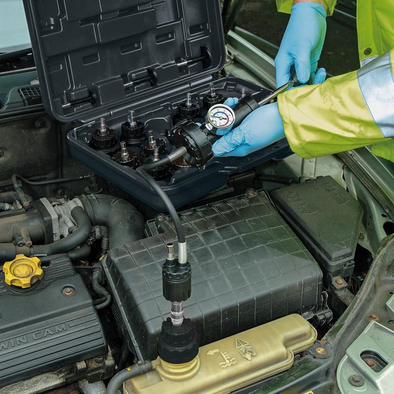 Draper Expert Radiator & Cap Pressure Test Kit