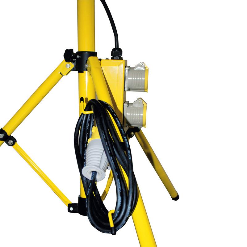 Luceco 110V Single Head Tripod Work Light