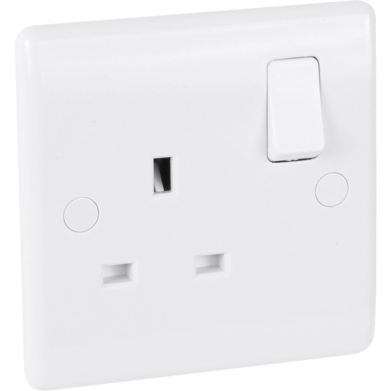 BG 13A Low Profile Switched Socket