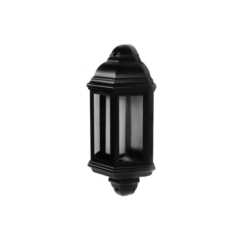 LED PIR IP44 Half Lantern