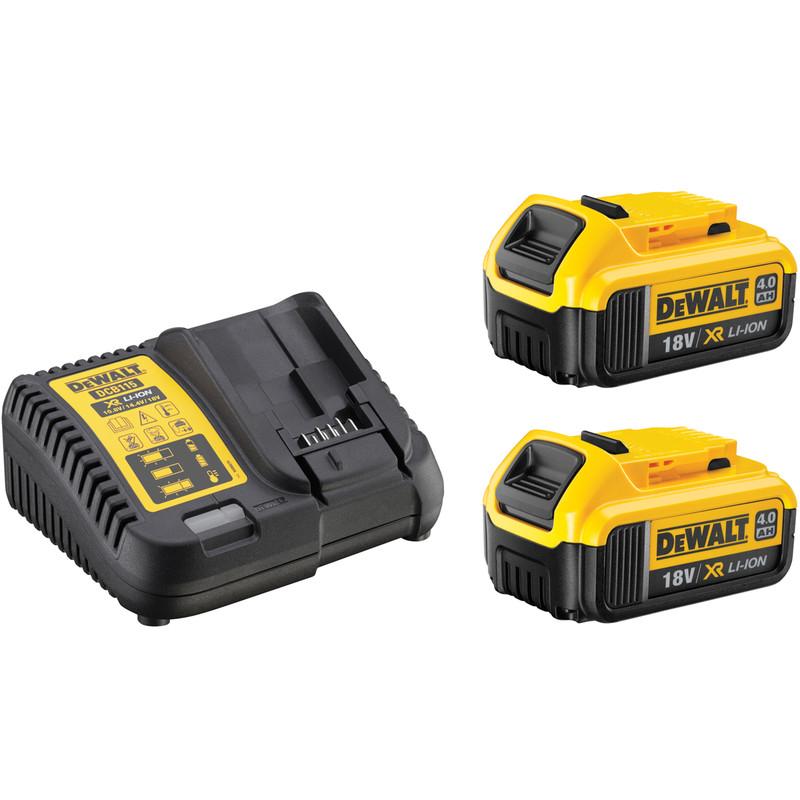 DeWalt DCK266M2T-GB 18V XR Cordless Brushless Combi Drill & Impact Driver Twin Pack