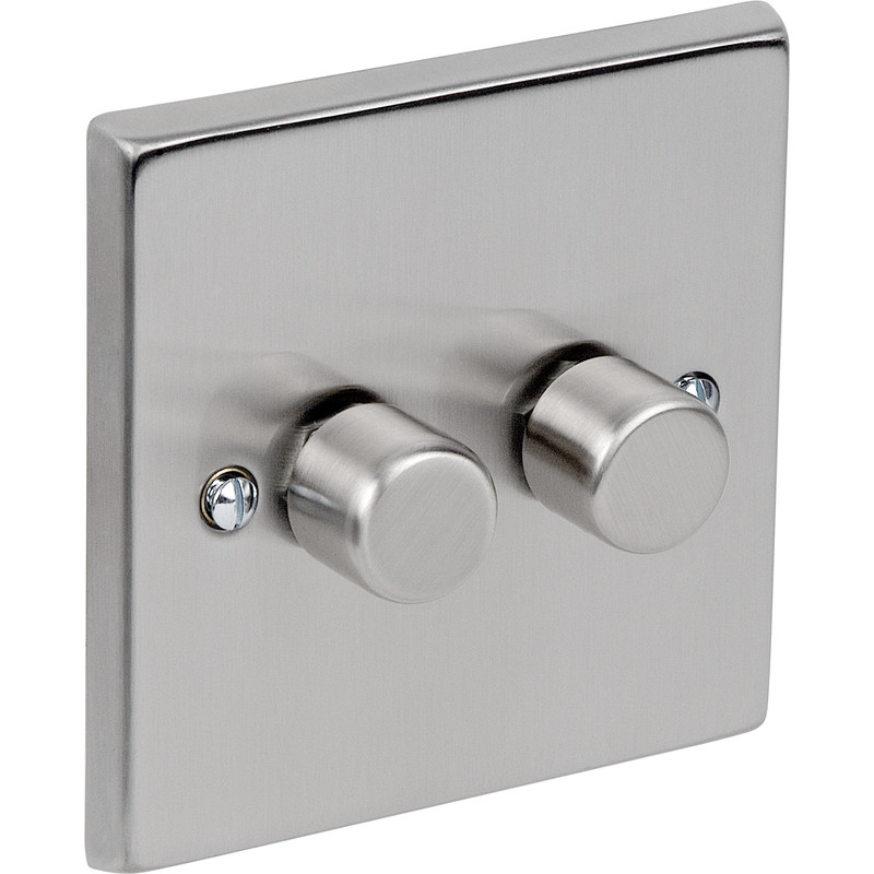 2 Way Dimmer Switch Chrome