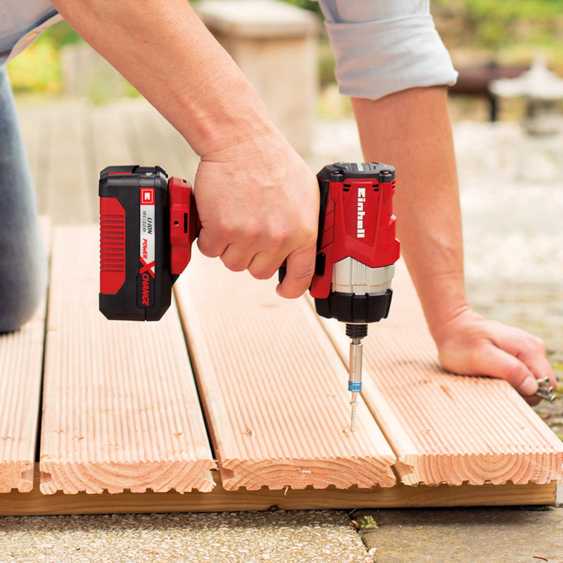 Einhell Power X-Change 18V Li-Ion Cordless Brushless Impact Driver