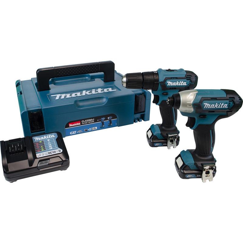 Makita CXT 12V Max Combi Drill & Impact Driver Kit