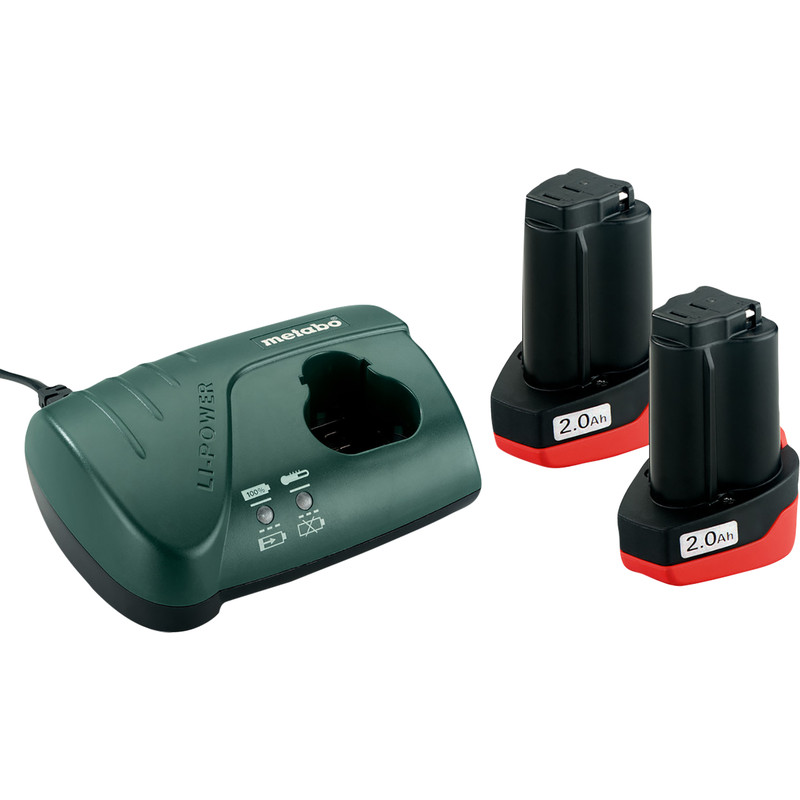 Metabo Basic Set 10.8V Charger Kit