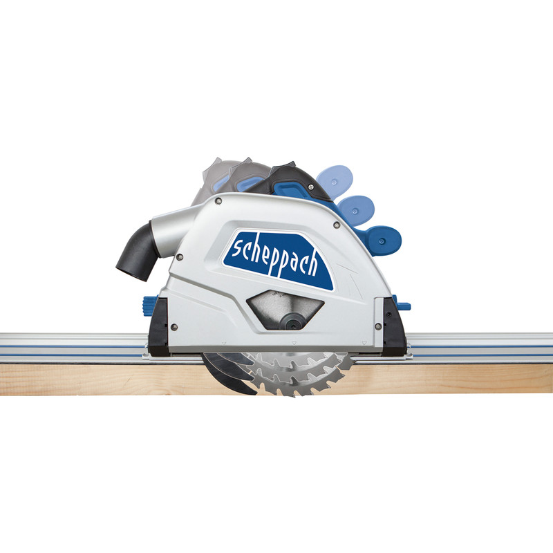 Scheppach PL55Li-P2 36V Li-Ion 160mm Cordless Plunge Saw + 2800mm Guide Rails
