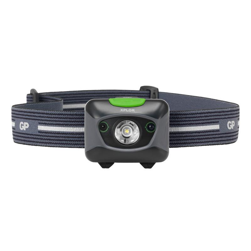 GP XPLOR PHR15 LED Rechargeable Distance Sensor Head Torch