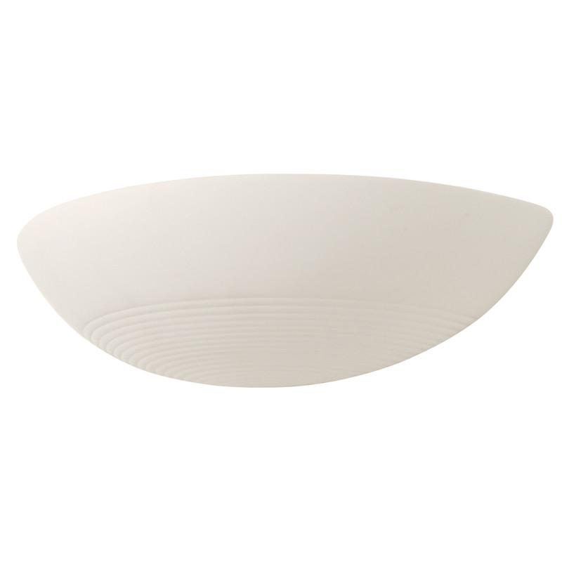 Ribbed Ceramic Uplighter