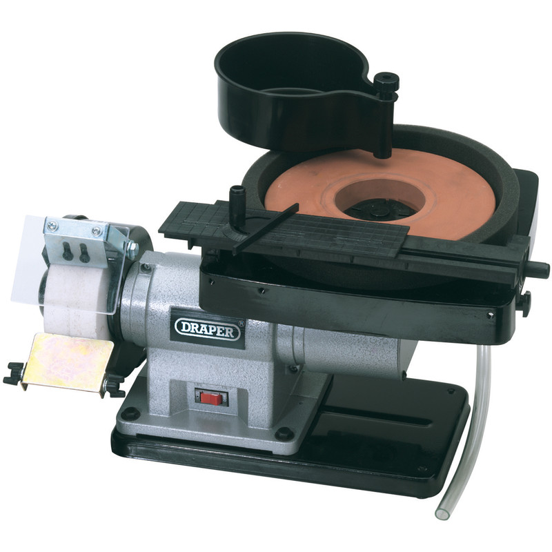Draper 350W Wet and Dry Bench Grinder