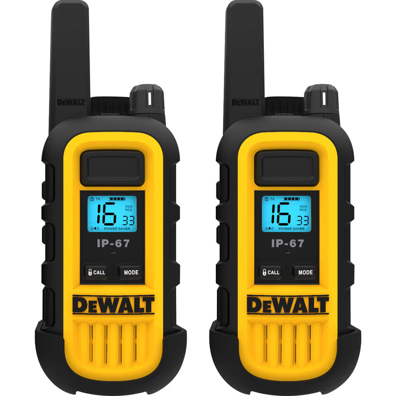 DeWalt DXPMR300 Walkie Talkie Pair