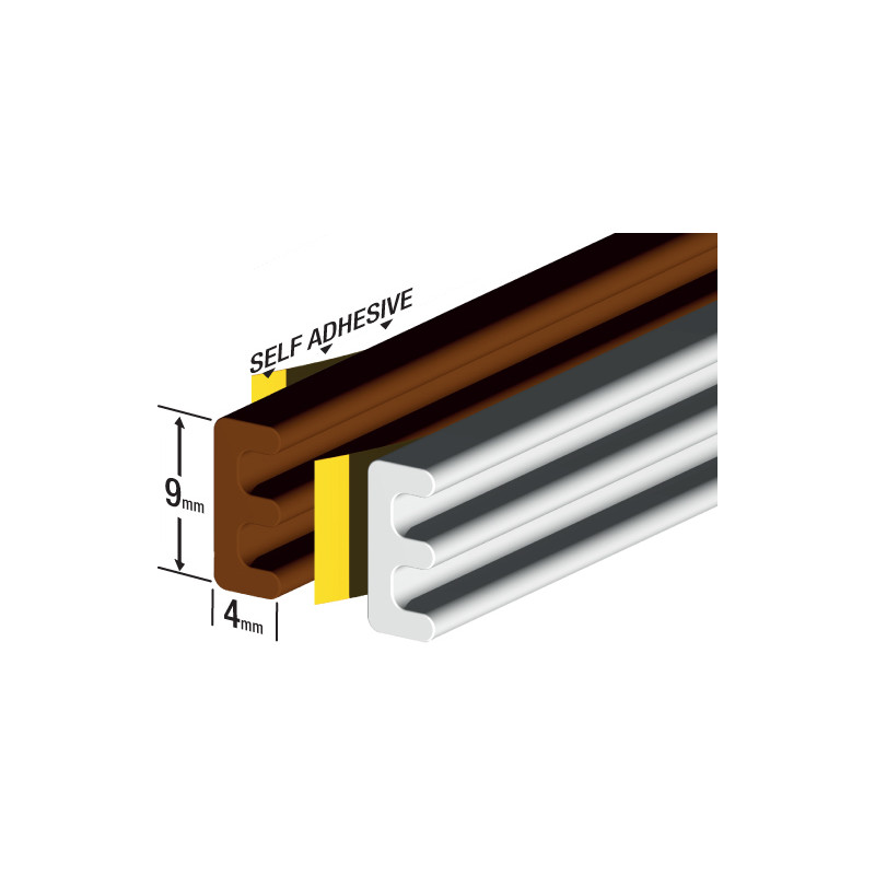 Stormguard EPDM Weatherstrip E Profile