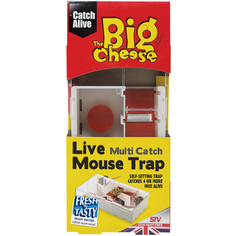 The Big Cheese Live Multi-Catch Mouse Traps