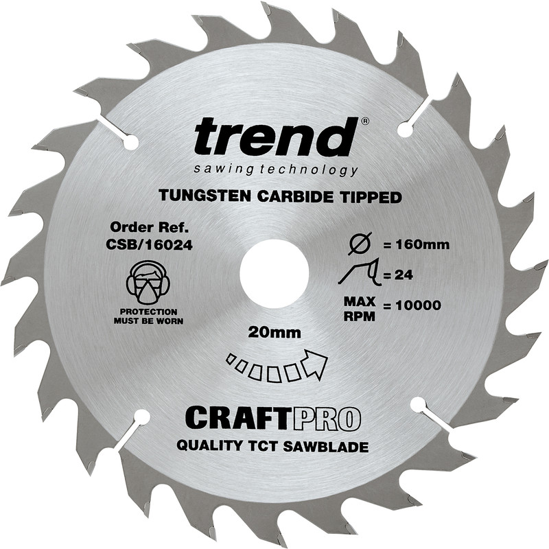 Trend Craft Thin Kerf Circular Saw Blade