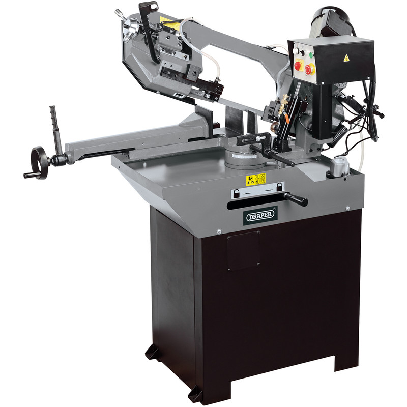 Draper 260mm 1100W Metal Cutting Horizontal Bandsaw