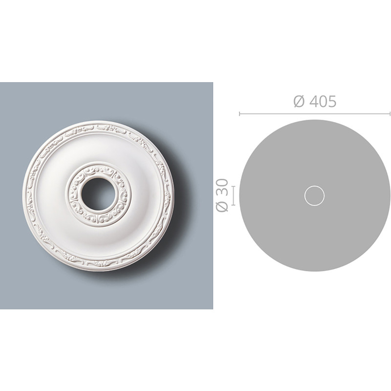 Classic Coving Ceiling Rose R71