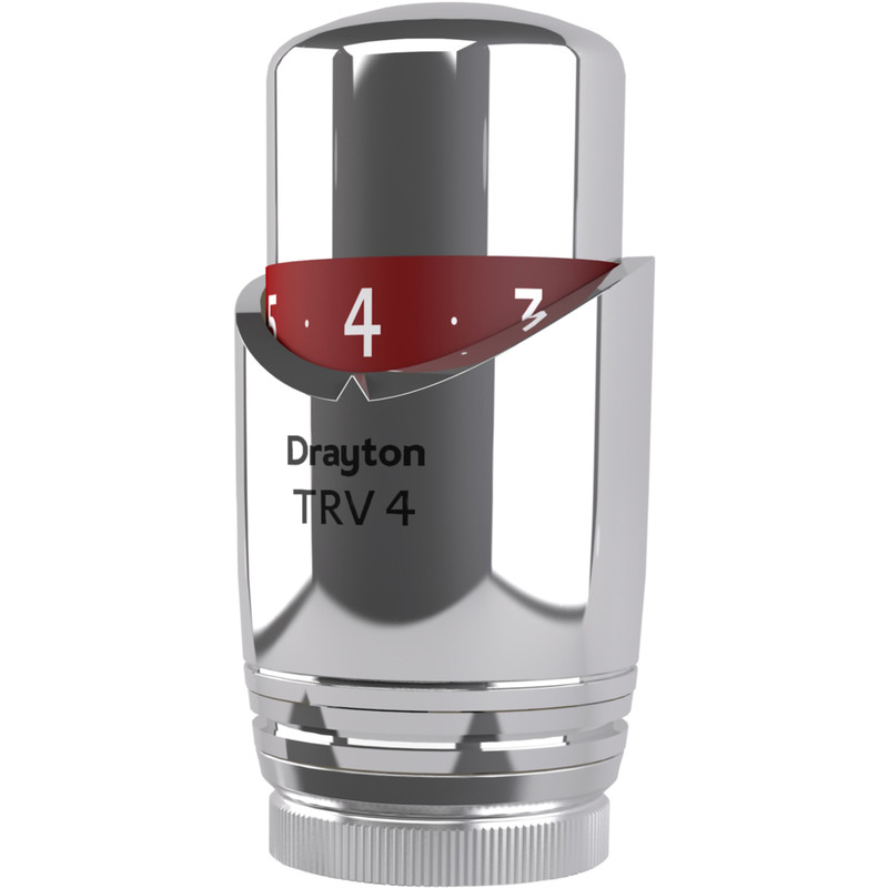 Drayton TRV4 All Chrome