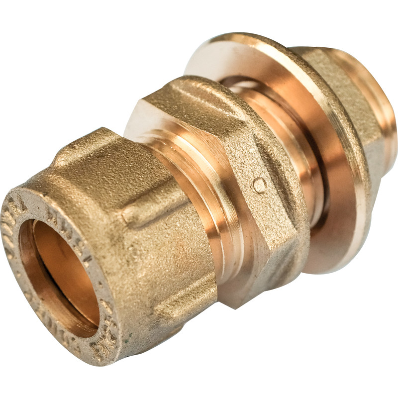Conex Extended Male Straight Connector with Back Nut