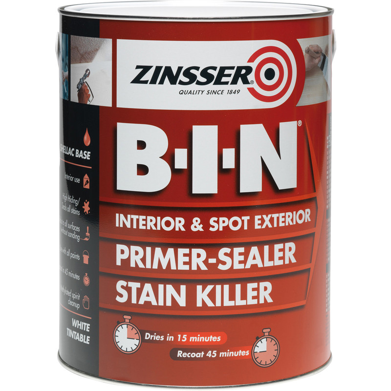 Zinsser B-I-N Primer Sealer Paint