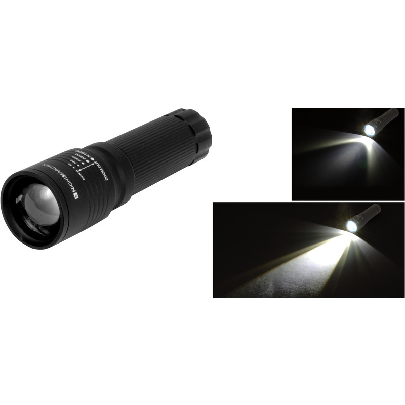 Nightsearcher Zoom LED Torch