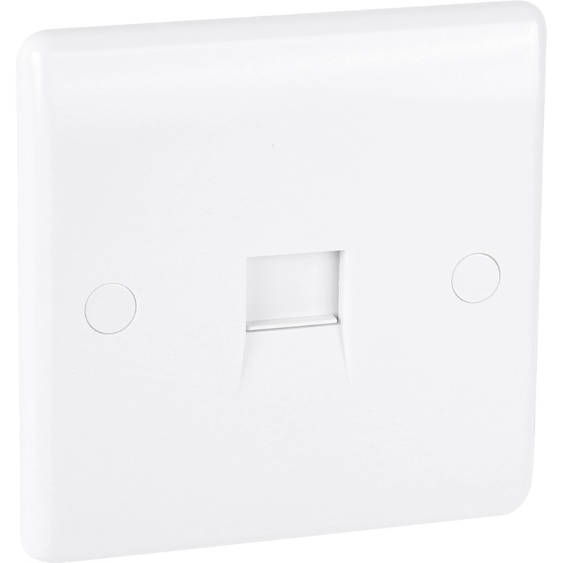 BG Low Profile Telephone Socket