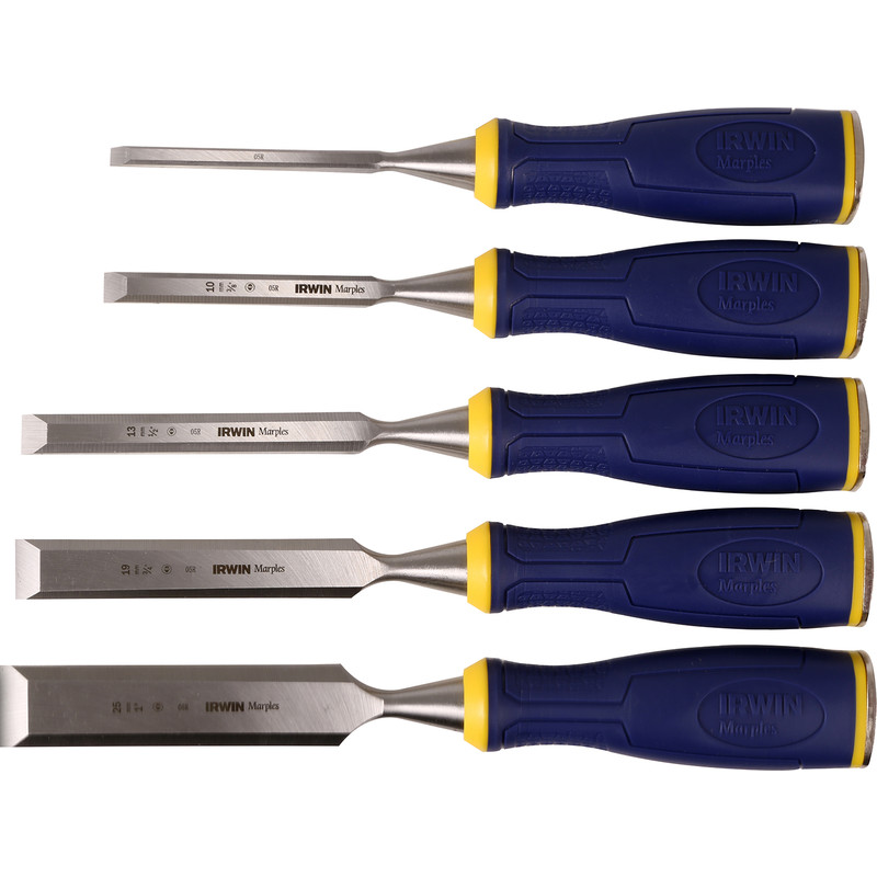 Irwin Marples Soft Grip Chisel Set
