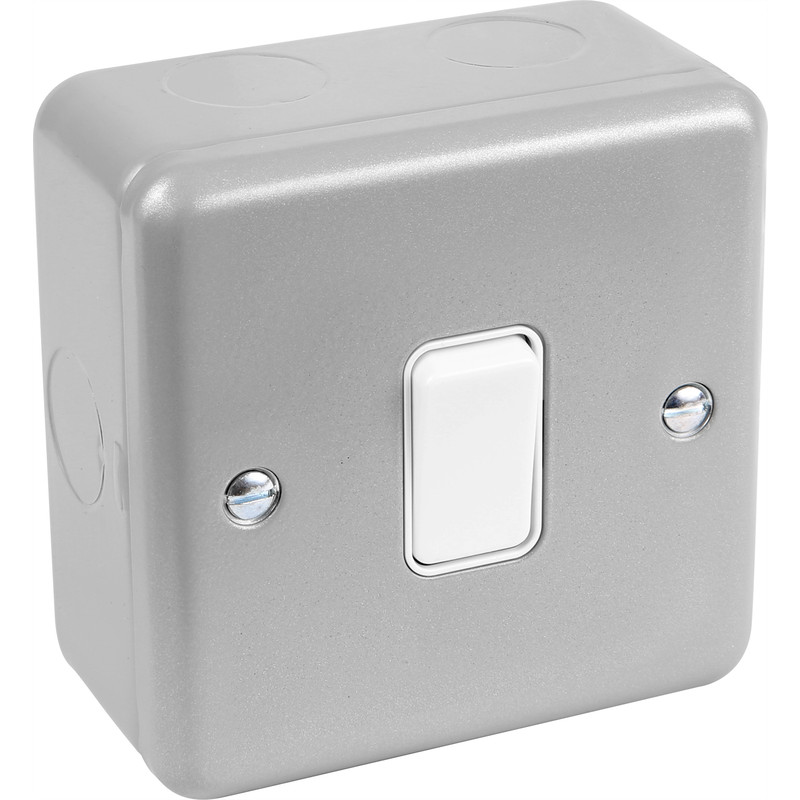 MK Metal Clad 10A Switch