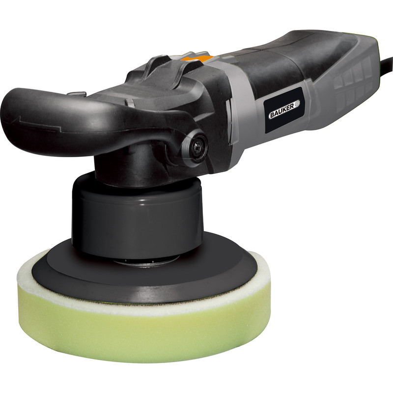 Bauker 600W 180mm Dual Action Polisher