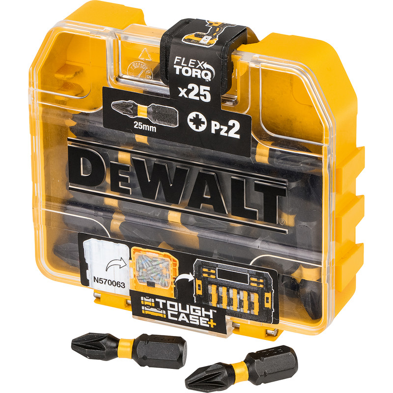 DeWalt Impact Torsion Screwdrivers Bits