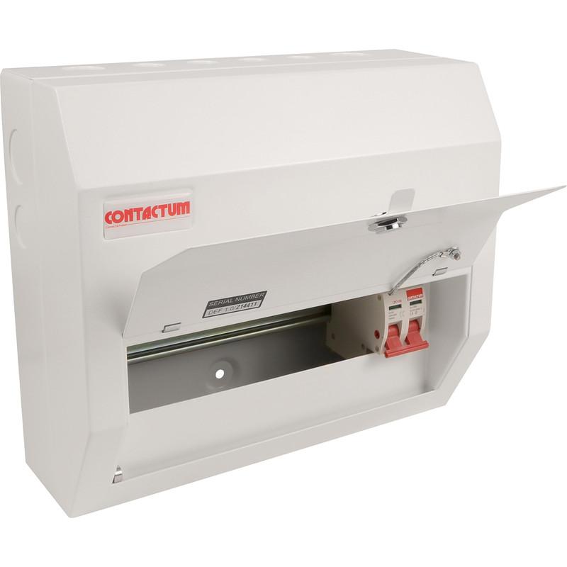 Contactum Metal 100A Consumer Unit