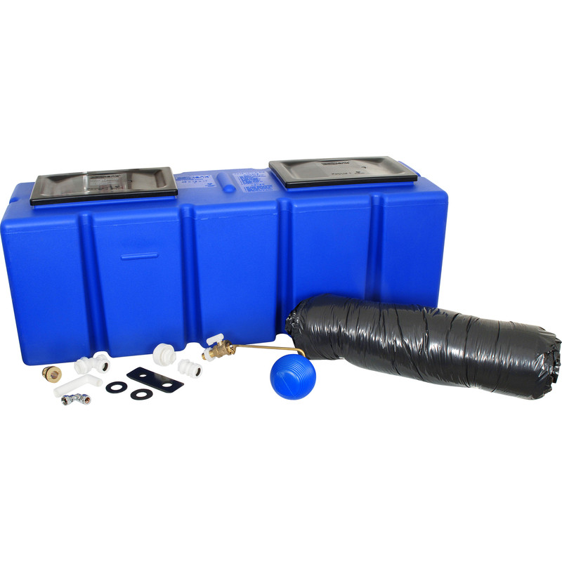 25 Gallon Polytank Blue Water Storage Tank