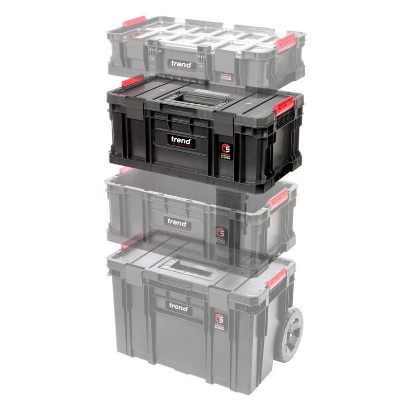 Trend Modular Storage Compact Toolbox