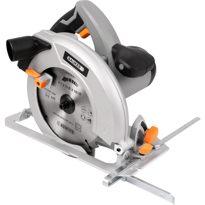 Bauker 1600W 185mm Circular Saw