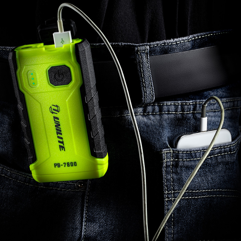Unilite 7800mah Powerbank With Flashlight