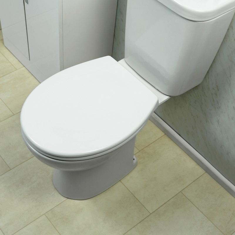 Thermoplastic Soft Close Family Toilet Seat