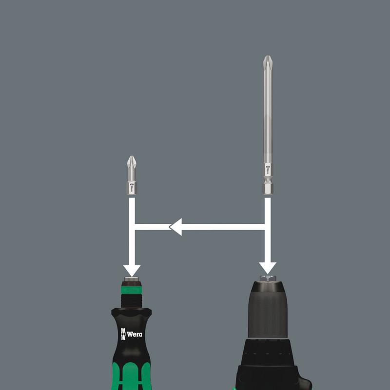 Wera KK20 Multi Function Screwdriver in Pouch