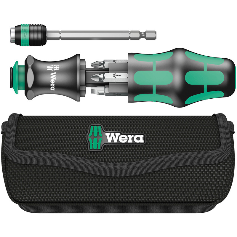 Wera KK20 Multi Function Screwdriver in Pouch