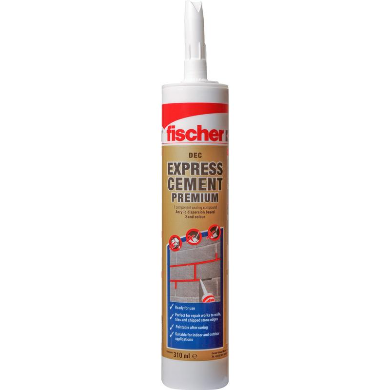 """Fischer DEC """"Premium"""" Express Ready Mixed Cement Cartridge"""