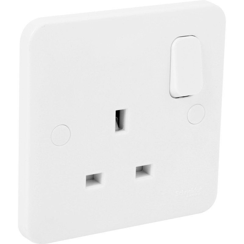 Schneider Electric Lisse Switched Socket