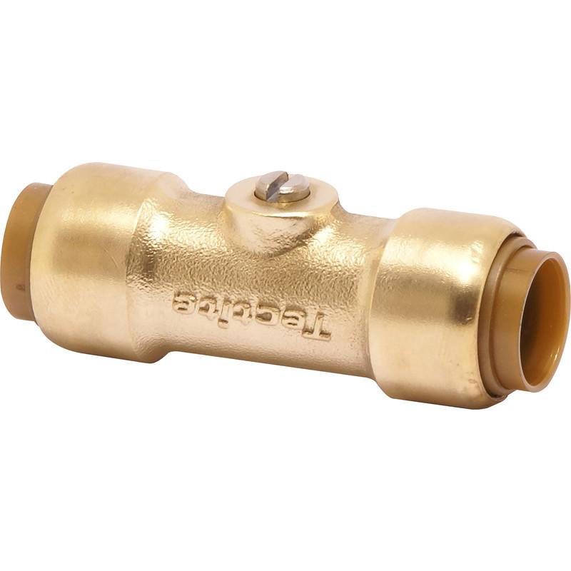Pegler Service Valve Brass