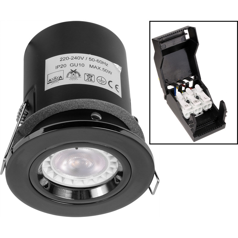 Fire Rated Fixed IP20 GU10 Downlight
