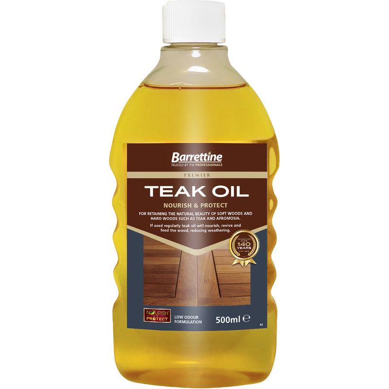 Clear Teak Oil