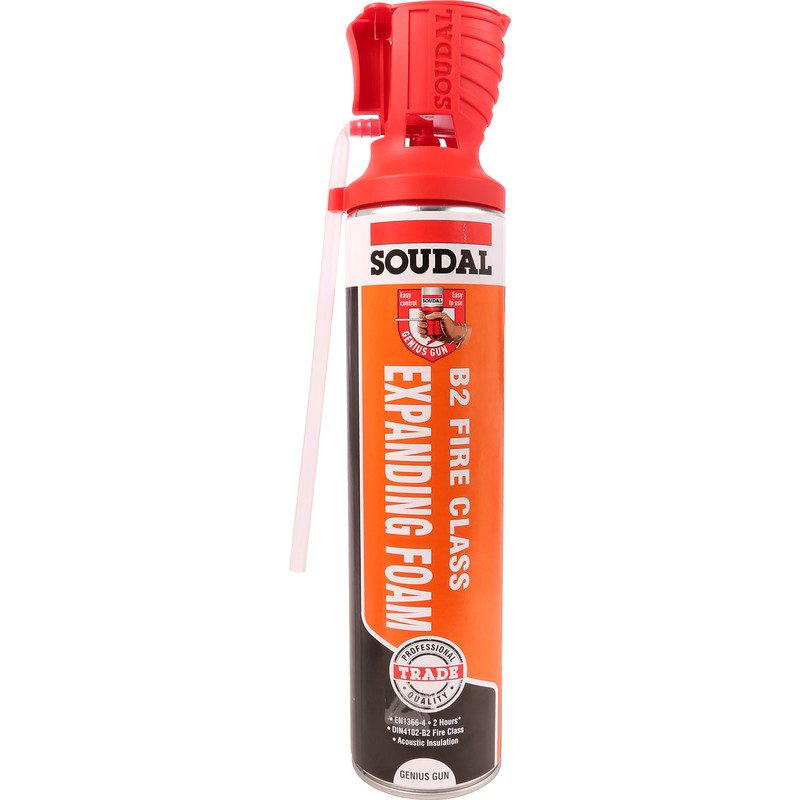 Soudal Fire & Acoustic Expanding Foam 600ml