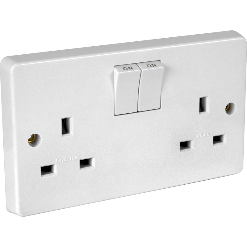 Crabtree Switched Socket