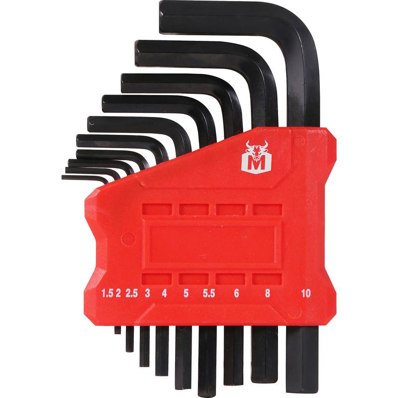 Minotaur Short Arm Hex Key Set