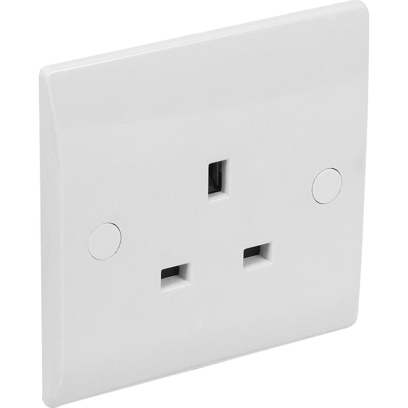 Axiom Low Profile Unswitched Socket
