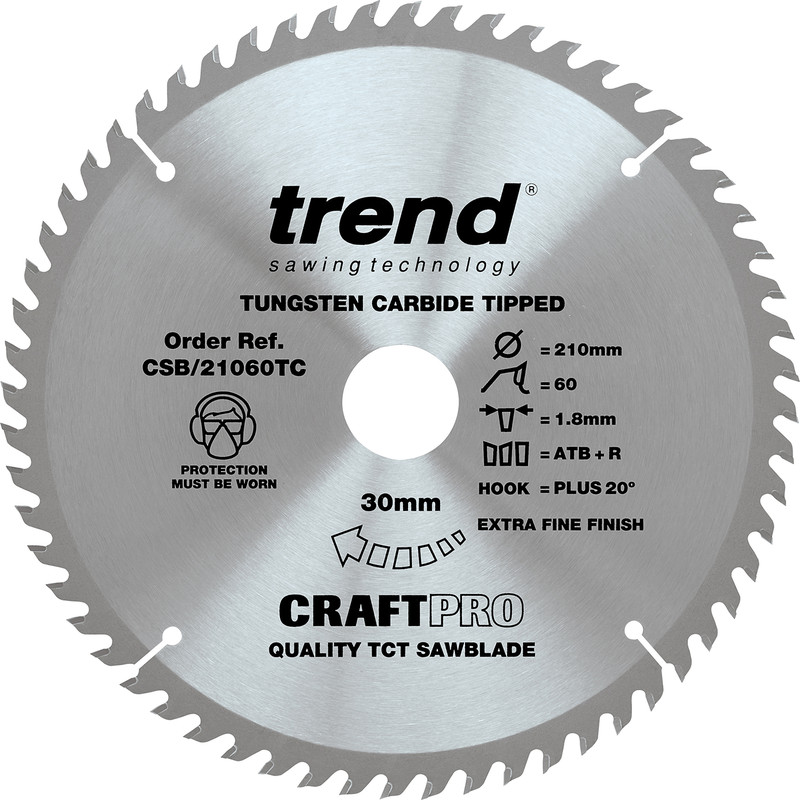 Trend Craft Table Saw Blade